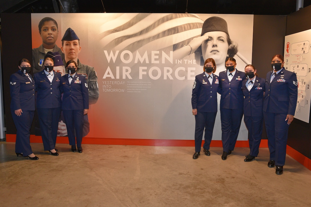 Women in the Air Force Exhibit Opening