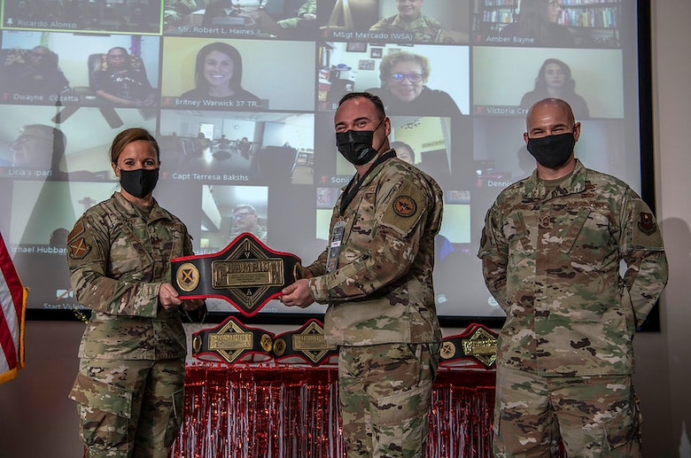 The 37th TRW annual awards ceremony was held at the IAAFA auditorium, Joint Base San Antonio-Lackland, Texas, March 5, 2021.