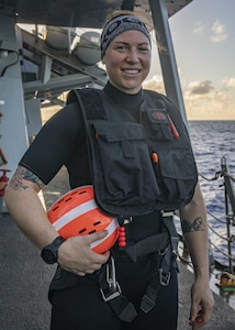 Montrose, Colo., Native Serves Aboard USS John S. McCain while Conducting Operations in the Philippine Sea