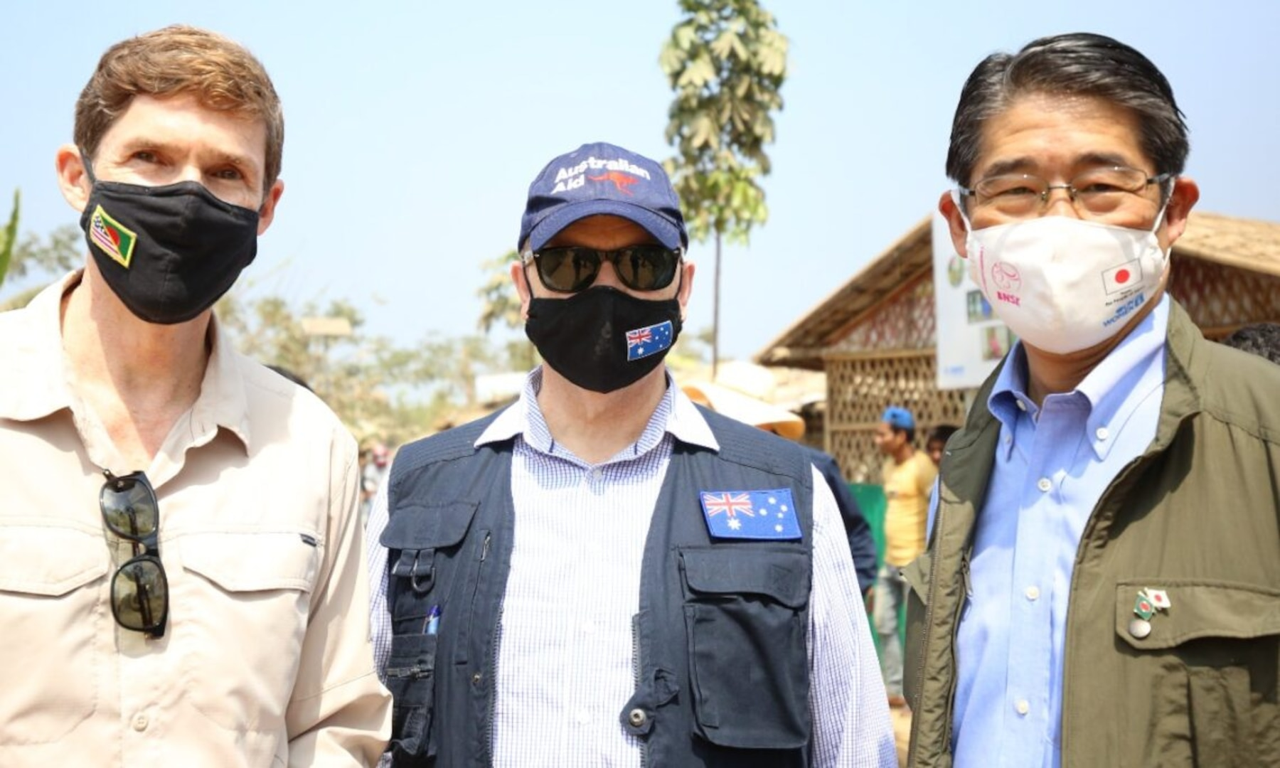 Heads of International Missions Visit Cox's Bazar, Declare Continued Support for Host Communities and Rohingya Refugees
