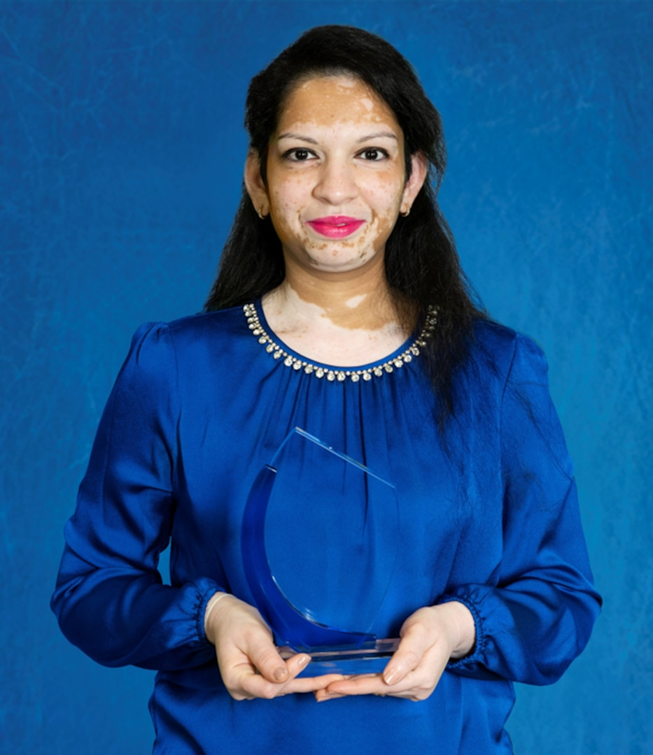 Komal Patel is the accounting lead and currently serving as acting Employee Services Division head in NSWC Panama City Division's Comptroller Department.
