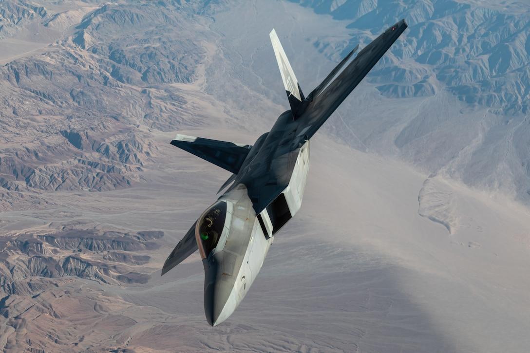 F-22 during Orange Flag