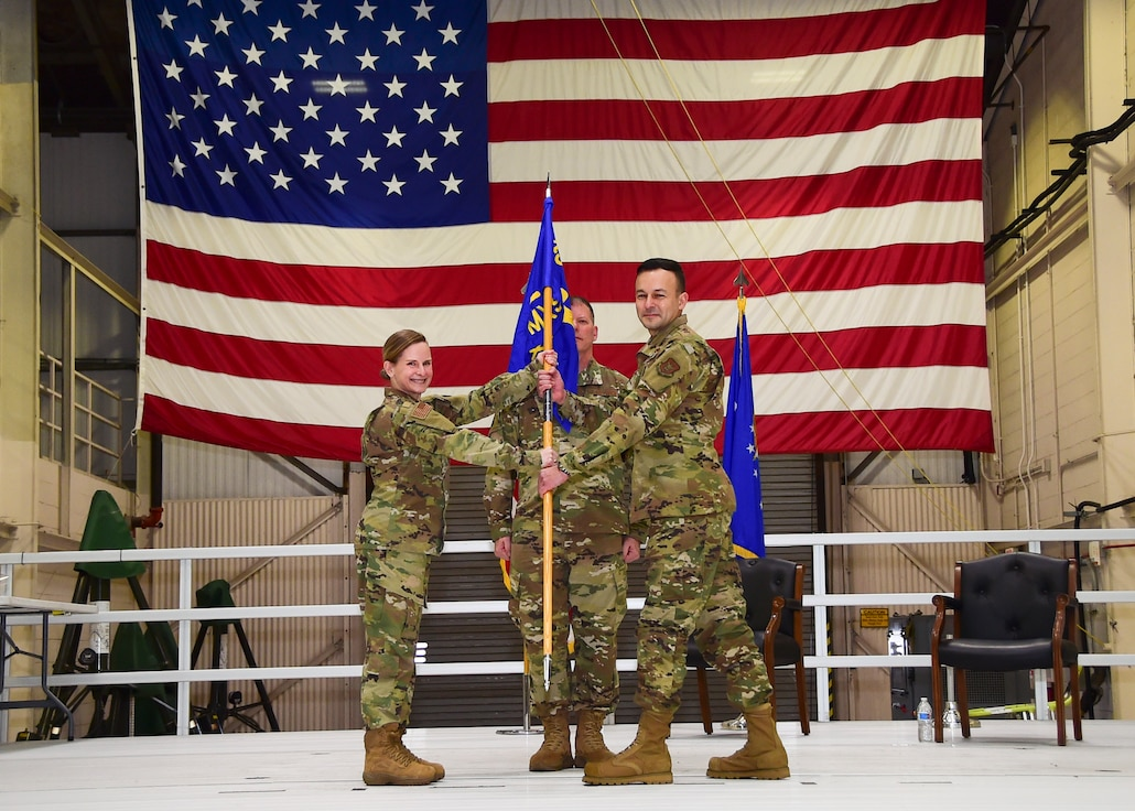 Palm assumes command of the 434th MXS