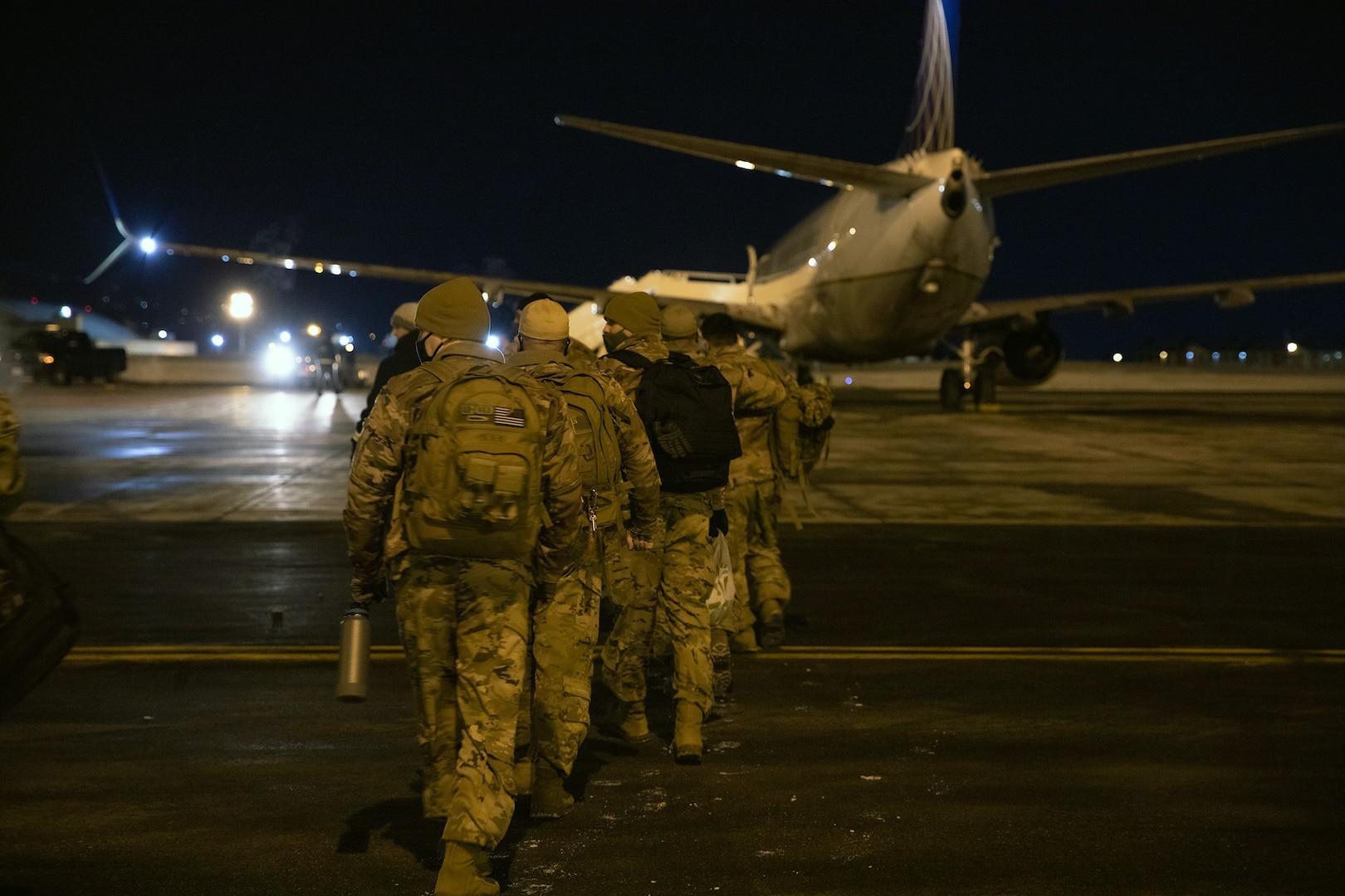 Alaska Army National Guard Aviation Company Mobilization