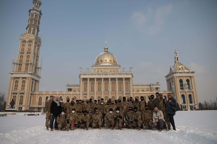The 297th Regional Support Group in Poland.