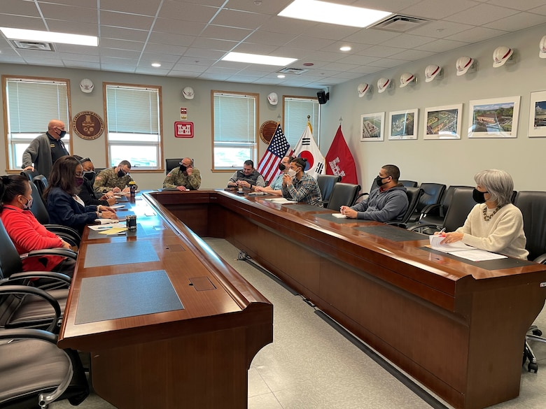 U.S. Army Corps of Engineers (USACE) Far East District (FED) held its first Diversity, Equity, and Inclusion Council on its Pyeongtaek compound on Feb. 26.