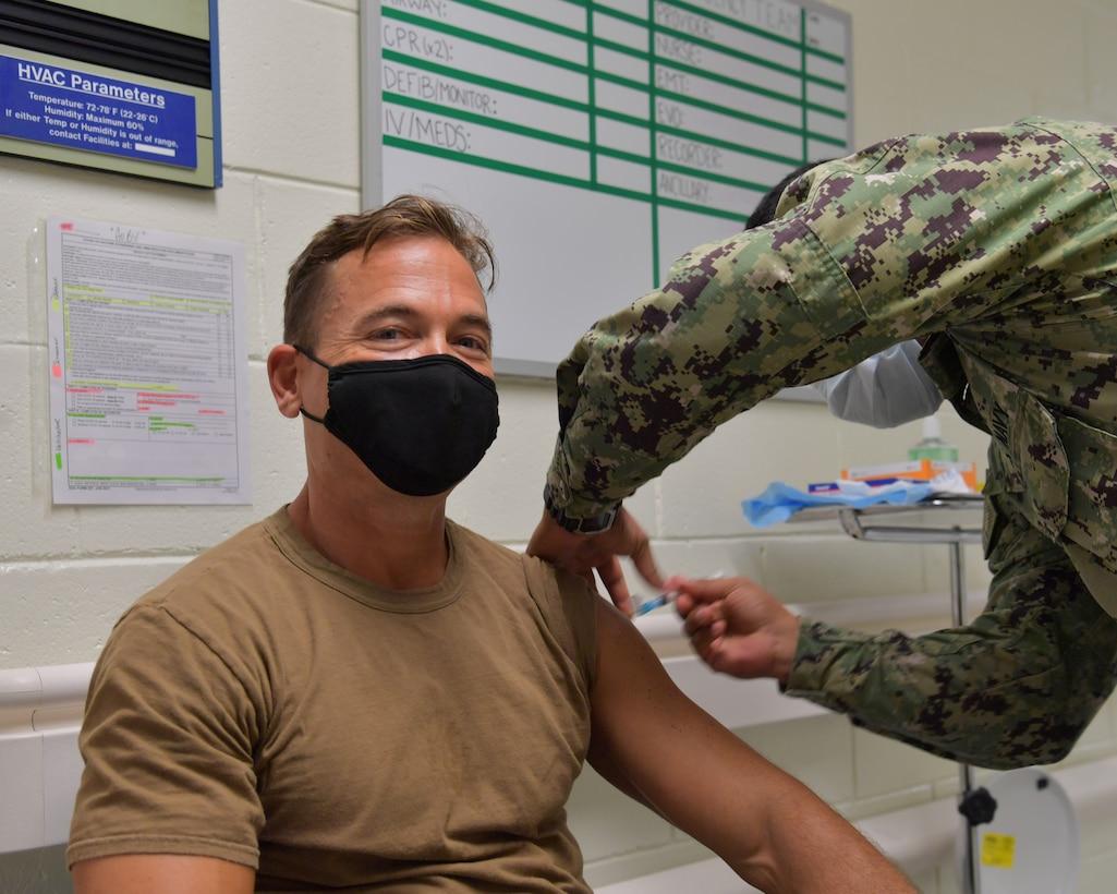 DLA Distribution Yokosuka ships COVID-19 vaccines to troops on Diego Garcia