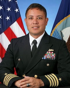 Captain Khary W. Hembree-Bey, Commanding Officer, Naval Surface Warfare Center, Corona Division