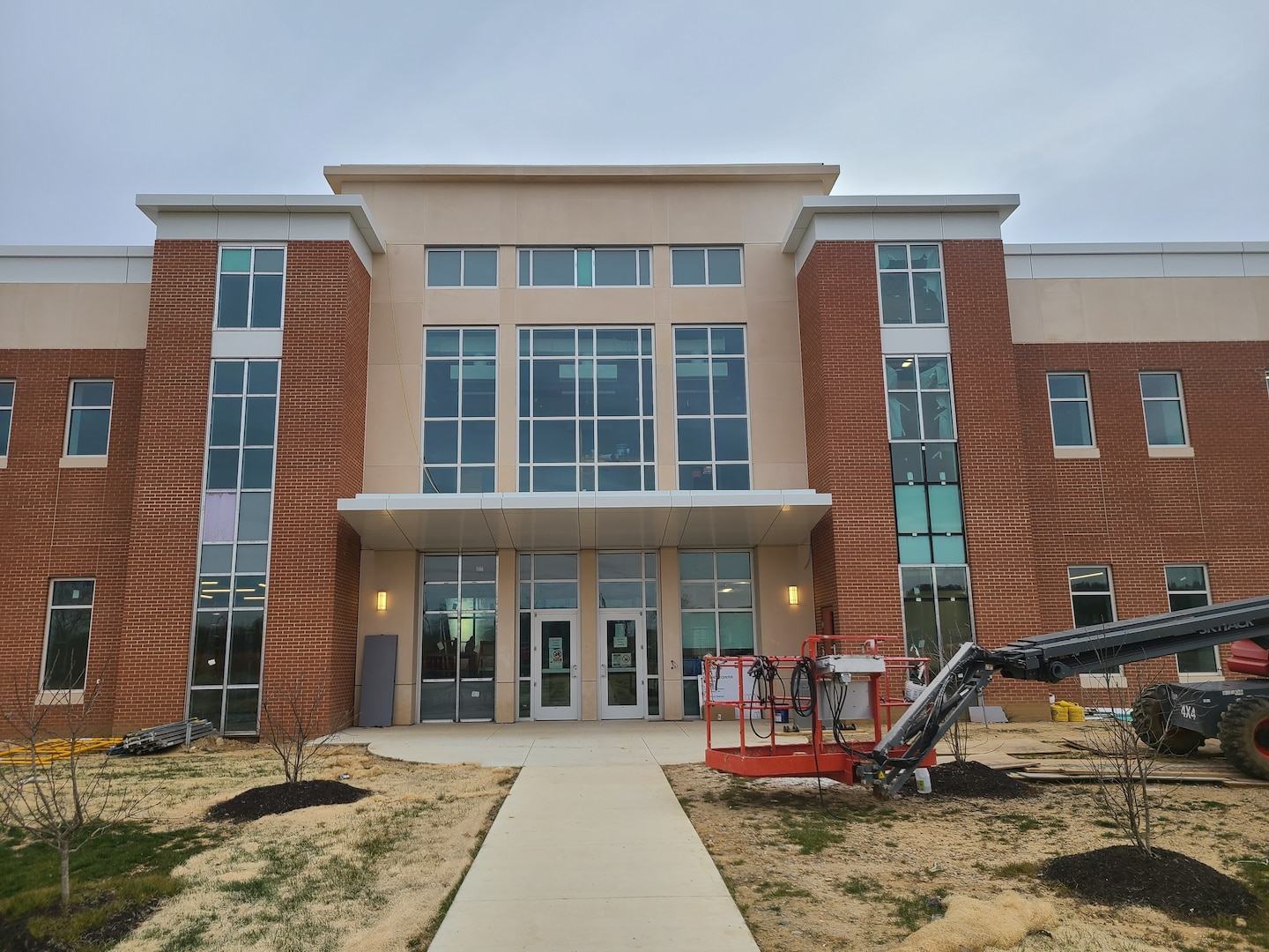 The 91st Cyber Brigade headquarters currently under construction at Fort Belvoir, Virginia.