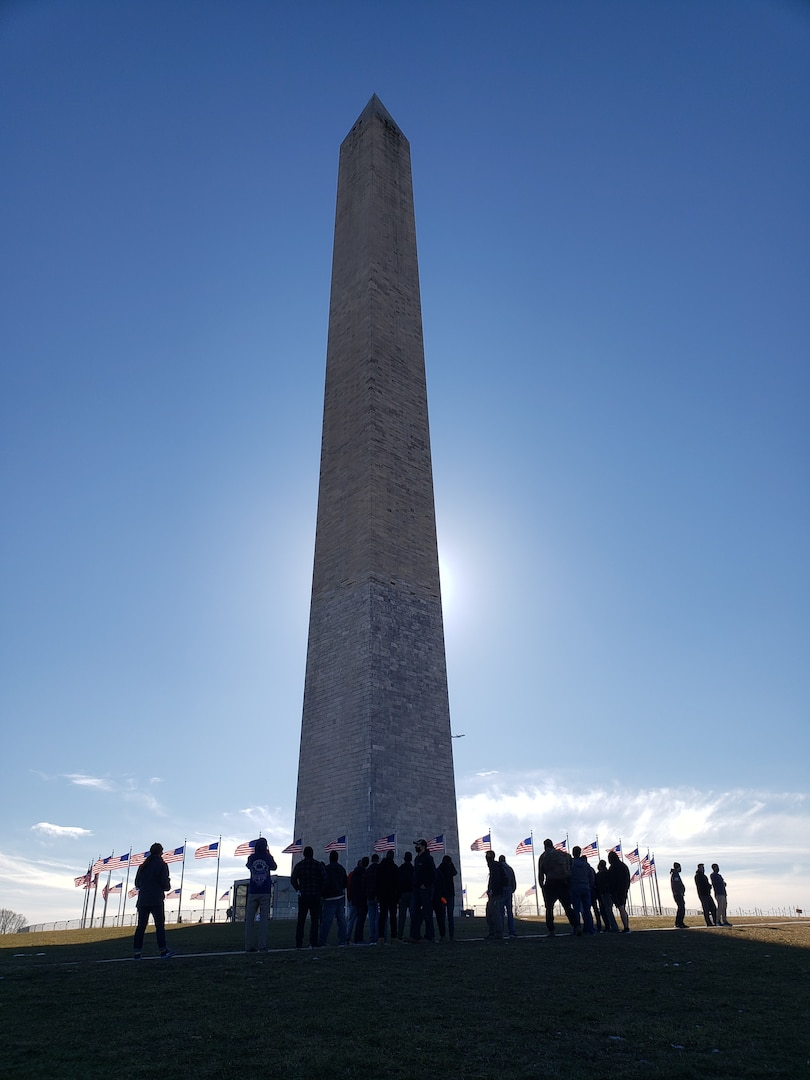 VNG Soldiers conduct Spiritual Fitness Walk in Washington, D.C.