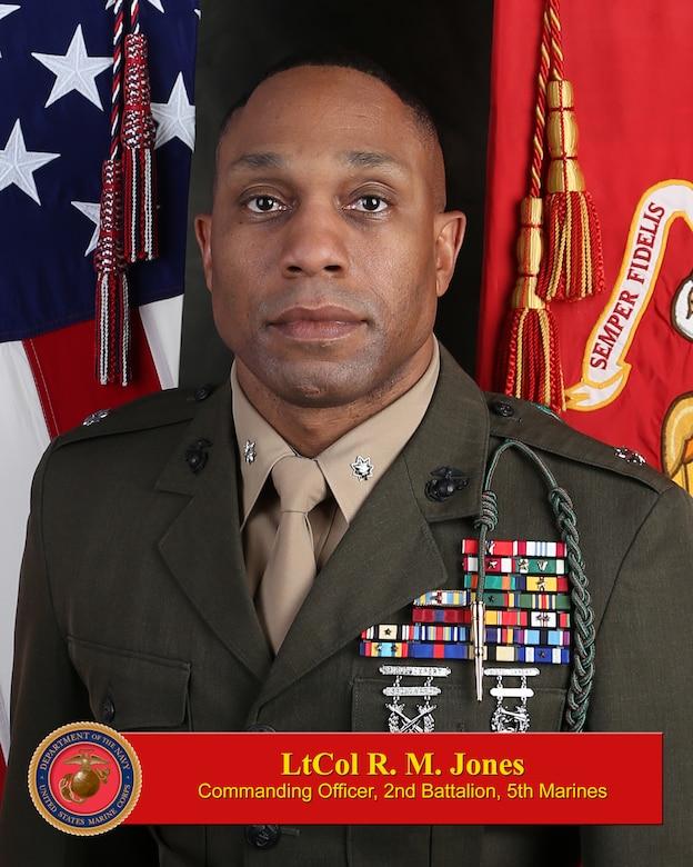 Lt. Col. R. M. Jones