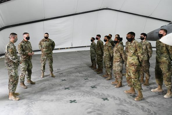 AFCENT DCFACC visits Prince Sultan Air Base