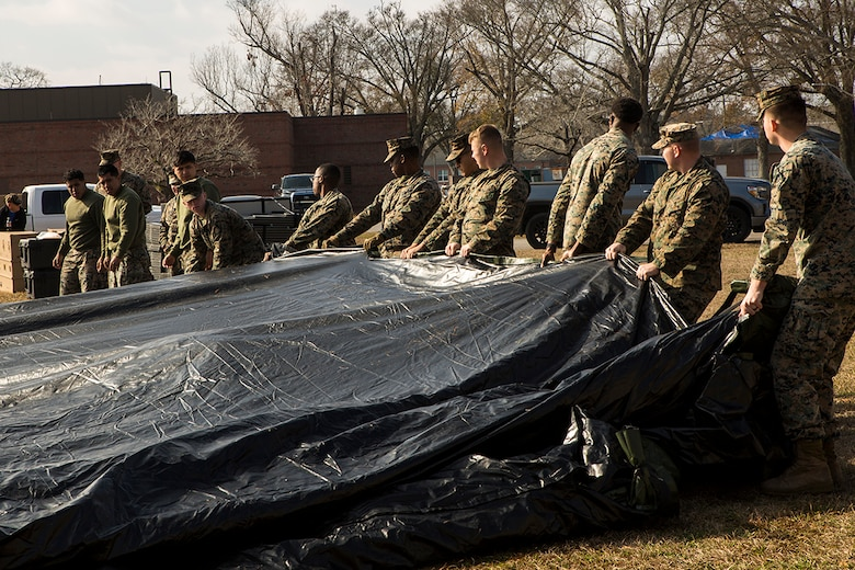 MCSC purchases inventive tents, fulfills urgent communication need during COVID-19