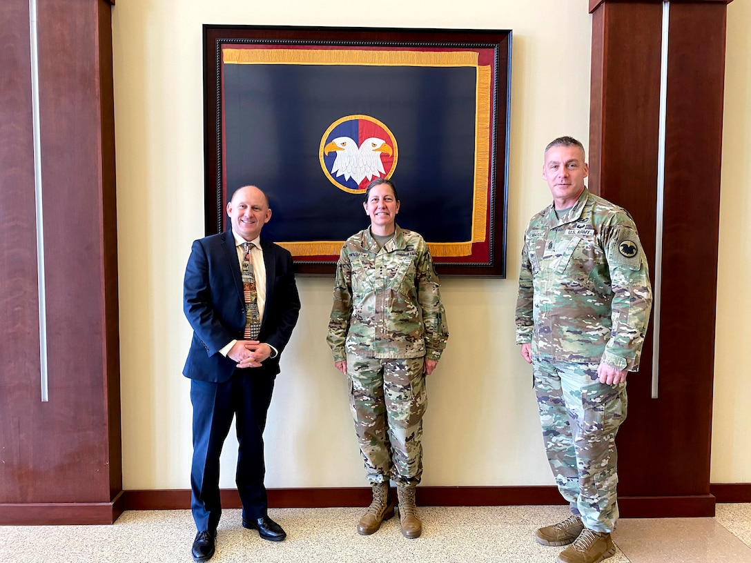 Secretary of the Army Visit