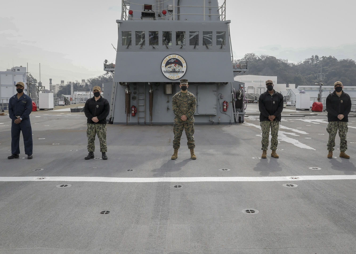 U.S. 7th Fleet, III Marine Expeditionary Force Conduct Staff Integration