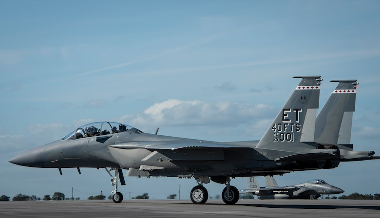 AF's first F-15EX arrives at Eglin