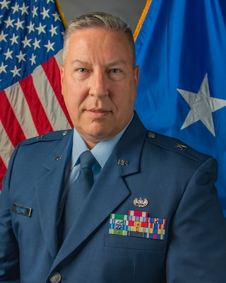 Official photo of Brig. Gen. Ray M. Shepard, Assistant Adjutant General - Air. (U.S. Air National Guard photo by Senior Master Sgt. Emily Beightol-Deyerle)