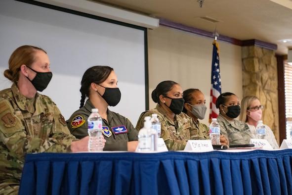 Women's History Month panel.
