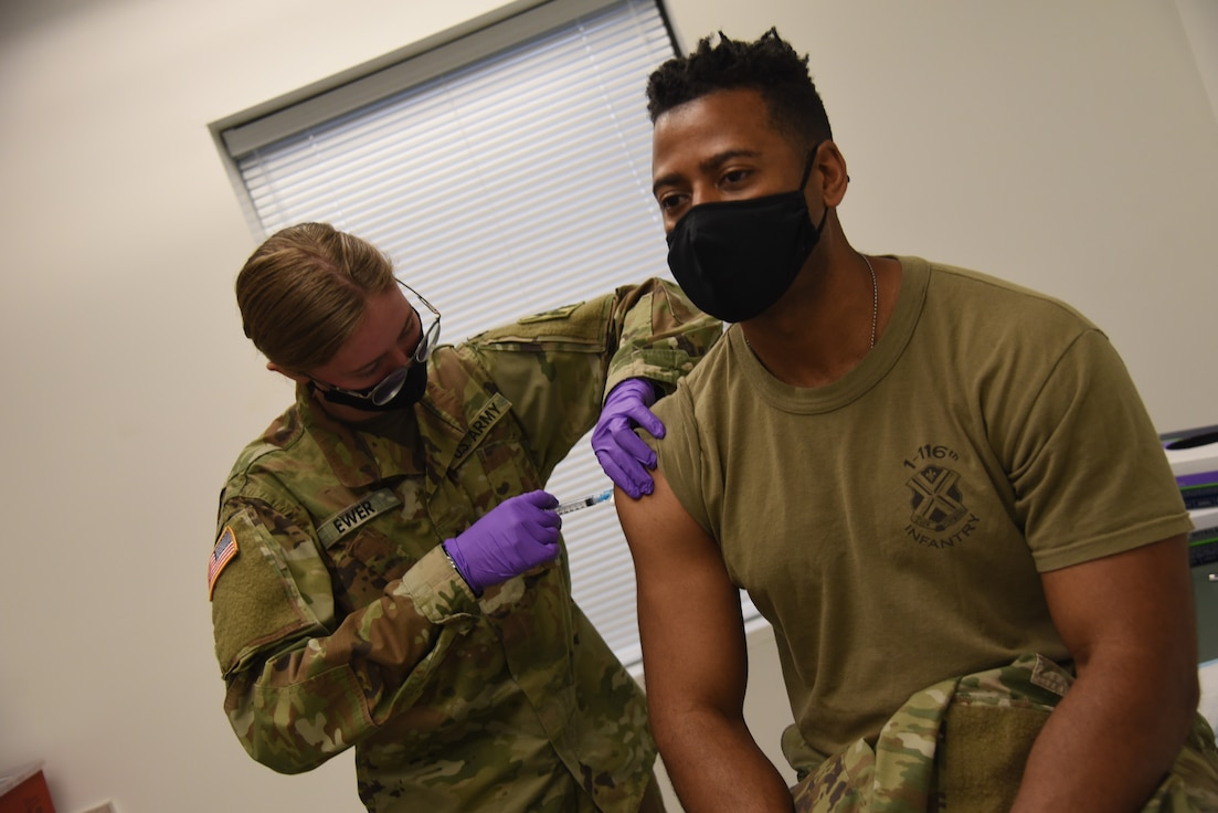 Fort Pickett vaccination clinic open to service members, TRICARE beneficiaries, DoD retirees