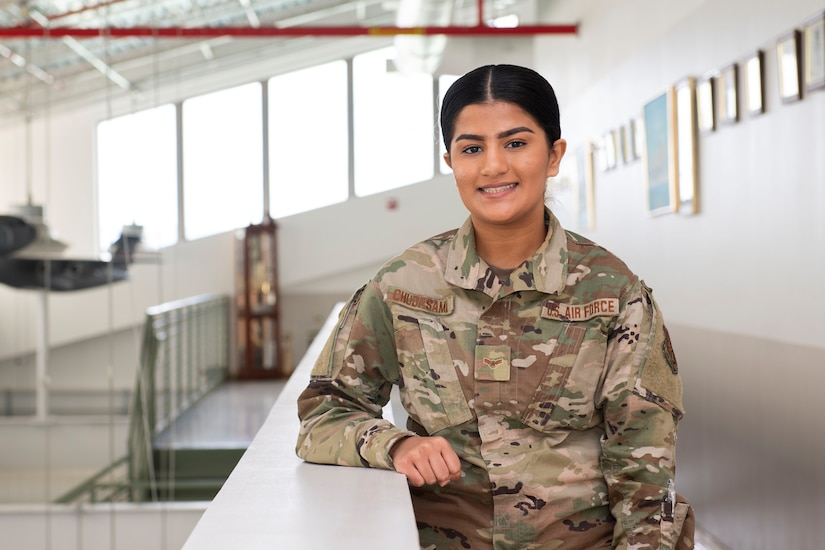 Airman 1st Class Pujaba Chudasama is a maintenance management analyst for the 167th Maintenance Operation Flight and the 167th Airlift Wing's Airman Spotlight for March 2021.
