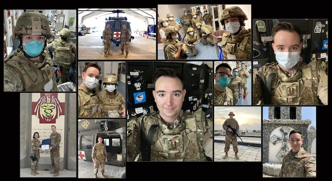Family doctor battles COVID in Afghanistan