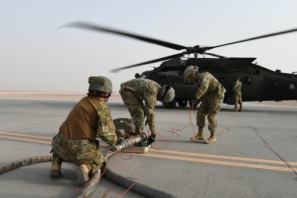 PSAB POL Airmen perform Army FARP