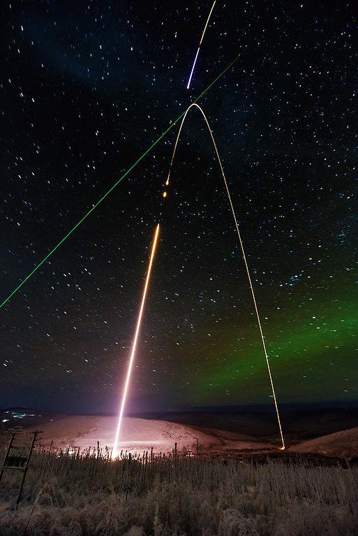 """NASA """"Super Soaker"""" rocket"""