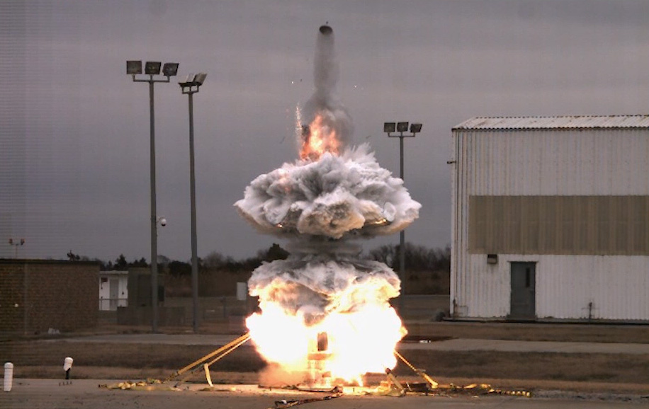"""Ground testing for the NASA """"Super Soaker"""" experiment."""