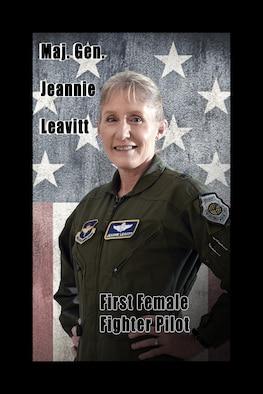 Female fighter pilot