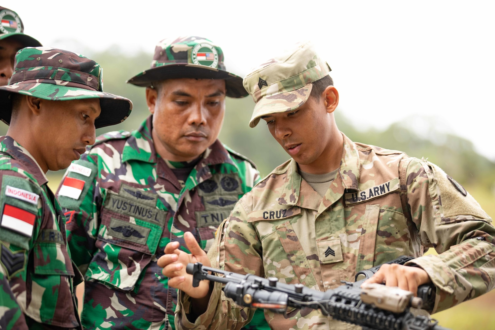 DOD Officials Describe Conditions in Indo-Pacific