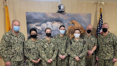 Naval Medical Center Portsmouth (NMCP)'s Rapid Rural Response Team (RRRT) deployed to Chinle Comprehensive Care Facility in Albuquerque, New Mexico to help the Navajo Nation in the fight against the Coronavirus disease (COVID-19) from Dec. 16, 2020 to March 12, 2021.