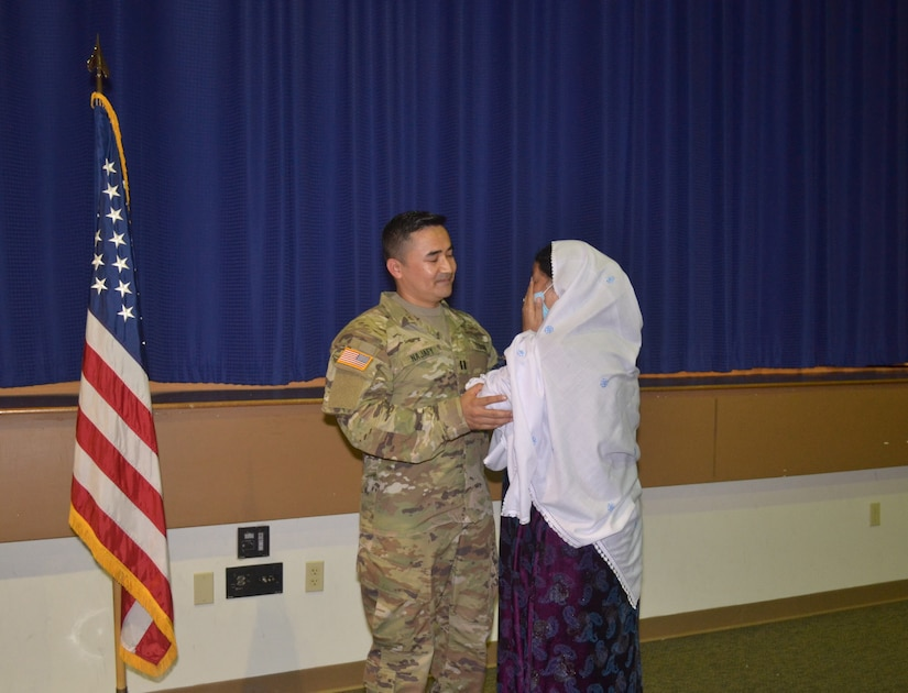 U.S. Army Reserve Soldier and Afghanistan native: 'I am living my American dream'