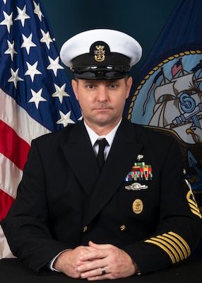 COMMAND MASTER CHIEF THEODORE J. MCKINNEY