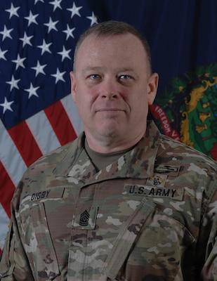Command Sgt. Maj. Paul Digby