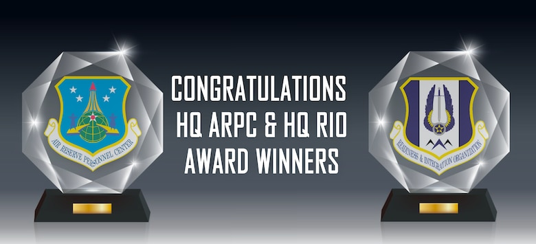 HQ ARPC and HQ RIO Earns 11 in 2020 A1 Awards (U.S. Air Force Graphic by Tech. Sgt. Della Creech)
