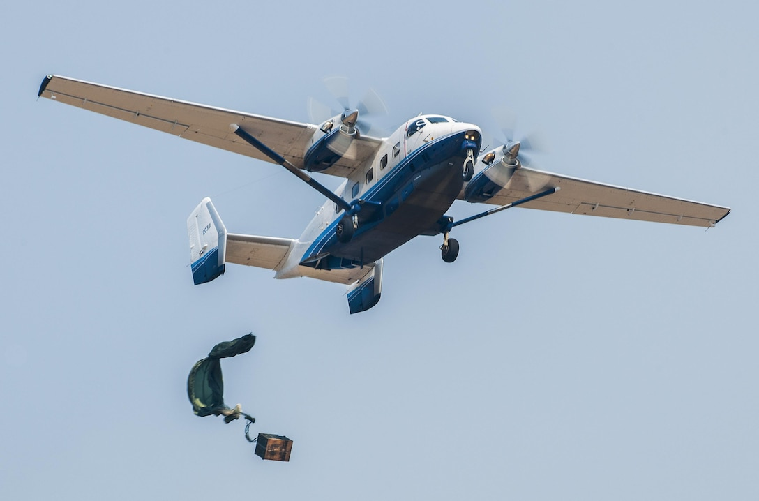 The Air Force Special Operations Command owned C-145A Skytruck is primarily flown by Combat Aviation Advisor, or CAA, special air mobility aircrew from the active duty 492nd Special Operations Wing and the reserve 919th SOW. The 711th Special Operations Squadron is the 919th SOW's reserve CAA squadron. The active duty CAA squadron is the 6th SOS in the 492nd SOW. (U.S. Air Force photo by Tech. Sgt. Samuel King Jr.)