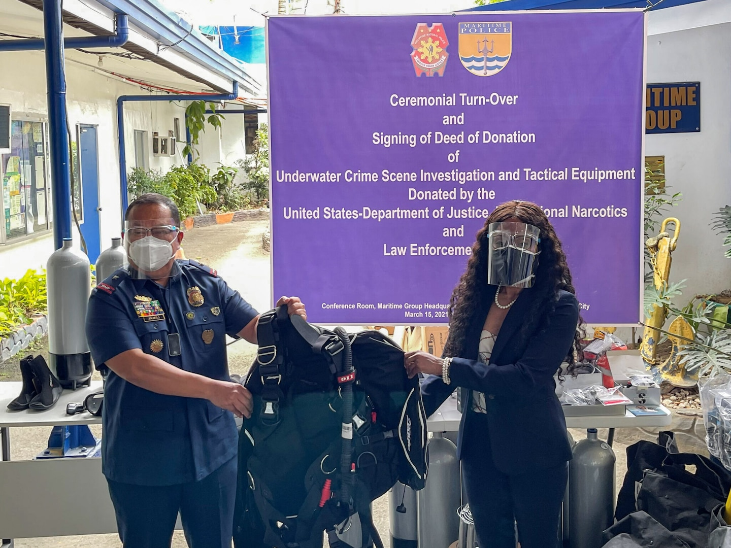 U.S. Hands Over Php3.7 Million in Equipment to Strengthen Philippine Maritime Law Enforcement Capability