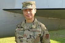 U.S. Air Force Chief Master Sgt. Jennifer Vazquez Díaz, the 156th Wing Command Post superintendent at Muñiz Air National Guard Base, Puerto Rico Air National Guard, March 07, 2021. (U.S. Air National Guard photo by Staff Sgt. Eliezer Soto)