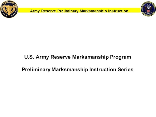 Updated Preliminary Marksmanship Instruction & Evaluation guides for all issue Army small arms equipment can be downloaded at https://www.usar.army.mil/ARM
