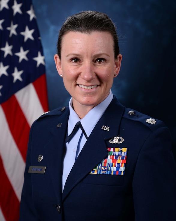 Lt. Col. Sarah J. Zimmerman, 17th Operational Weather Squadron commander