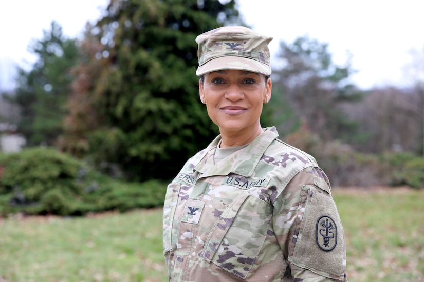 Col. Claudia Peterson is currently serving as the Chief of Readiness and Reserve Affairs for Regional Health Command Europe.