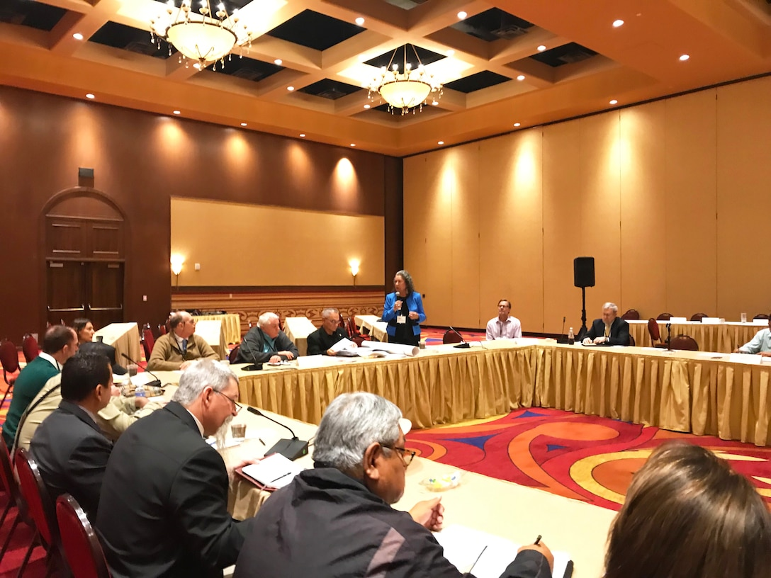 Pueblo of Pojoaque, New Mexico – Tribal members and several principal partners of the Western Regional Partnership participate in a Principals Meeting October 2018, hosted by the Pueblo of Pojoaque.