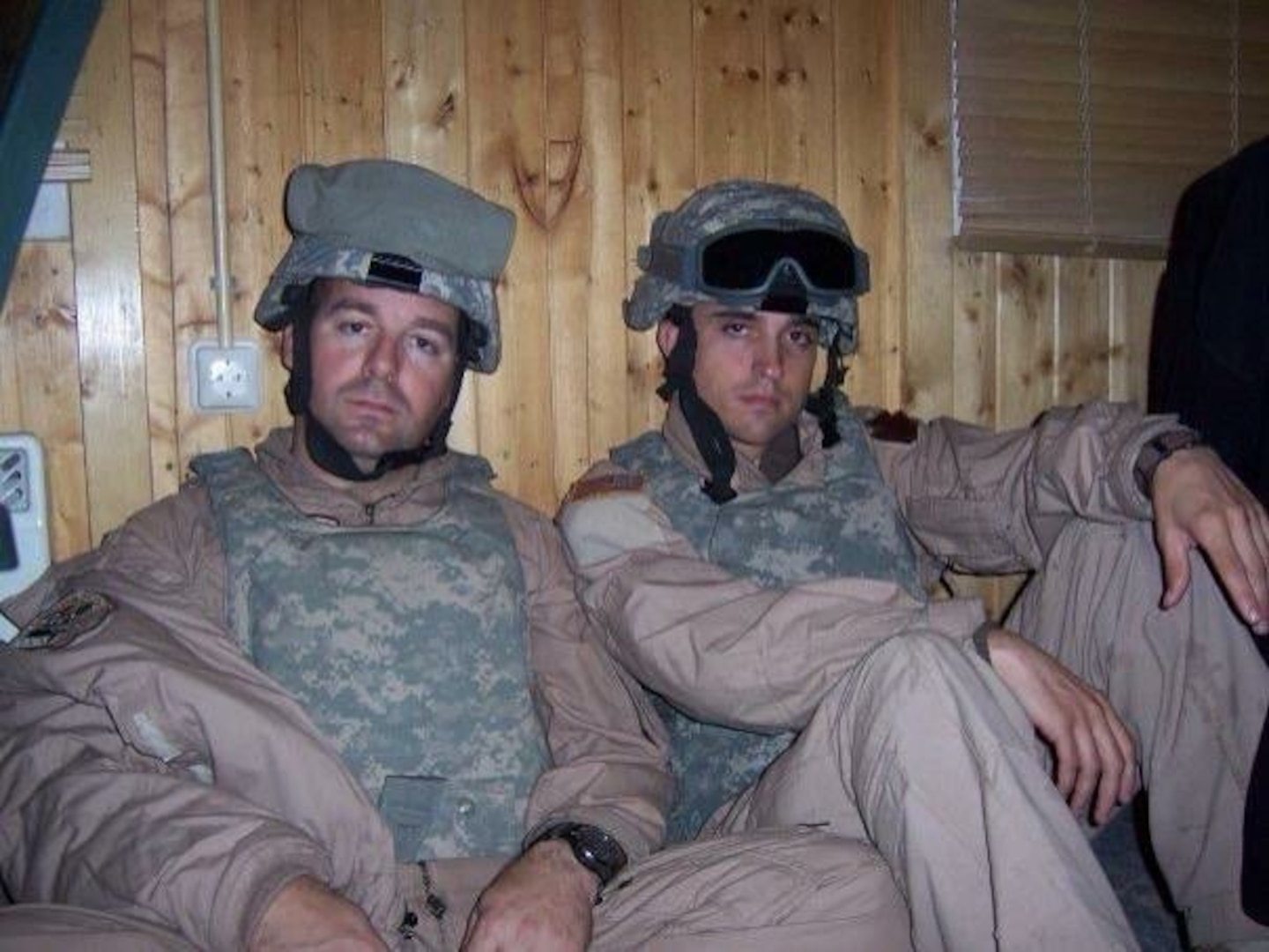 Chief Warrant Officer 3 Rich Adams and 1st Lt. Ernie Carlson flew 1500 hours of combat missions in an AH-64 Apache helicopter during Operation Iraqi Freedom in 2006. Fifteen years later, now Chief Warrant Officer 5 Adams and Maj. Carlson are back in the Middle East serving with the 28th Expeditionary Combat Aviation Brigade.