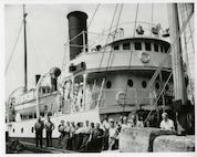 The crew of the US Lighthouse Service Tender Cedar,