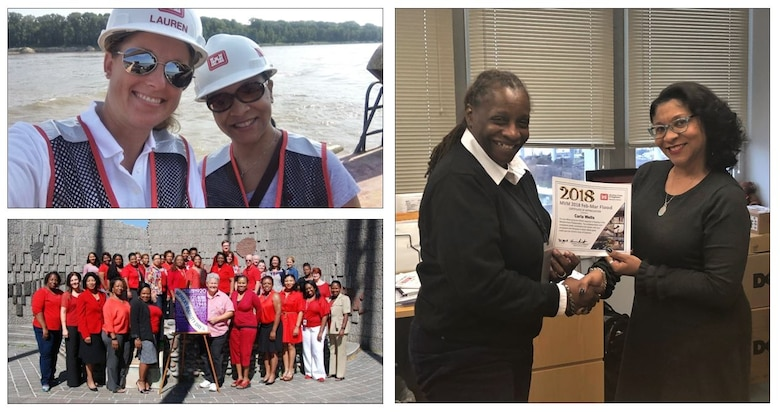 IN THE PHOTOS, this month, we are highlighting Carla Wells. She is a government purchase card business manager for the Contracting/Oversight Branch. Here are a few photos of her during her time as a government purchase card business manager.