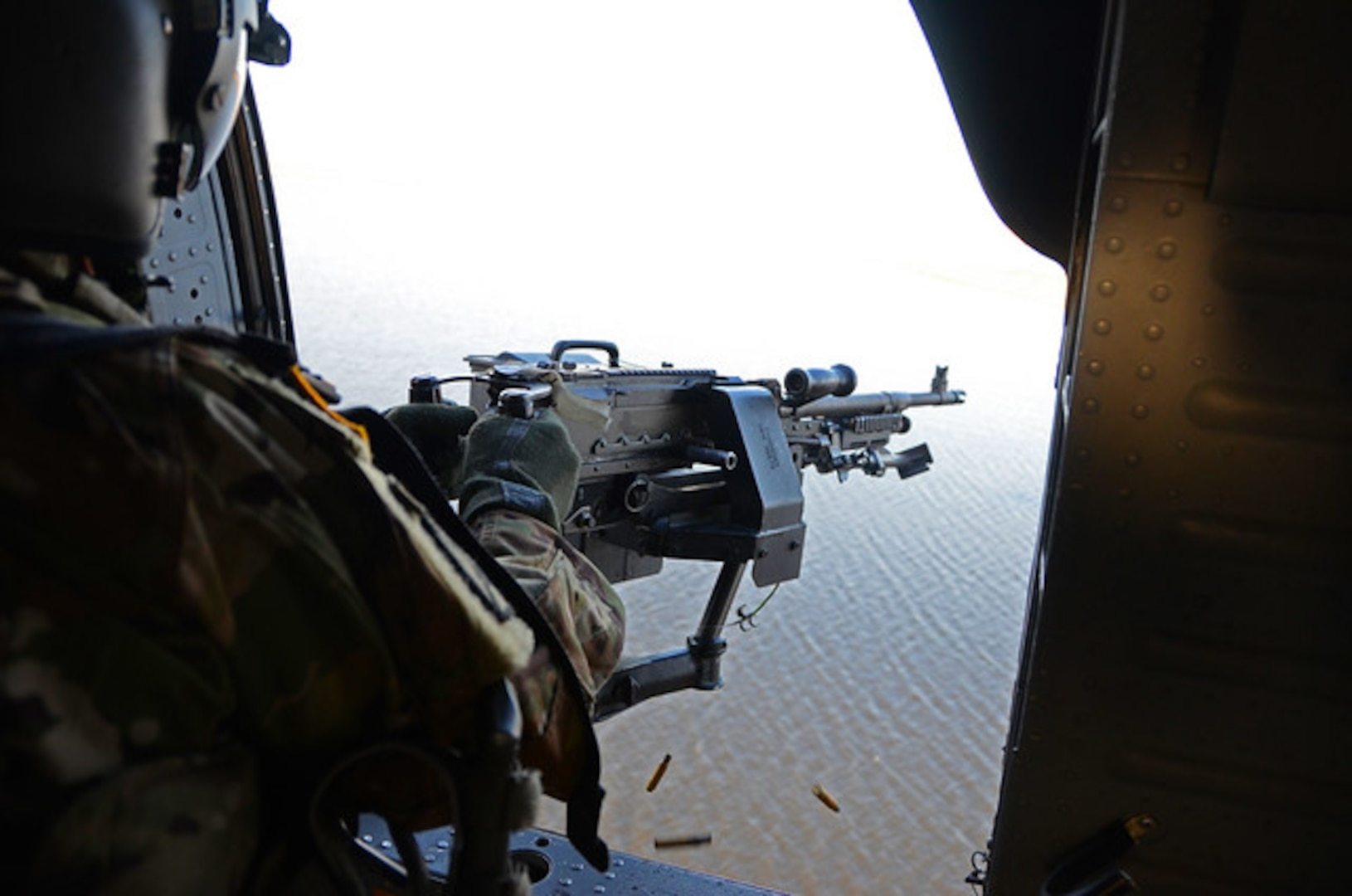 2-224th Aviation crews conduct aerial gunnery in N.C.