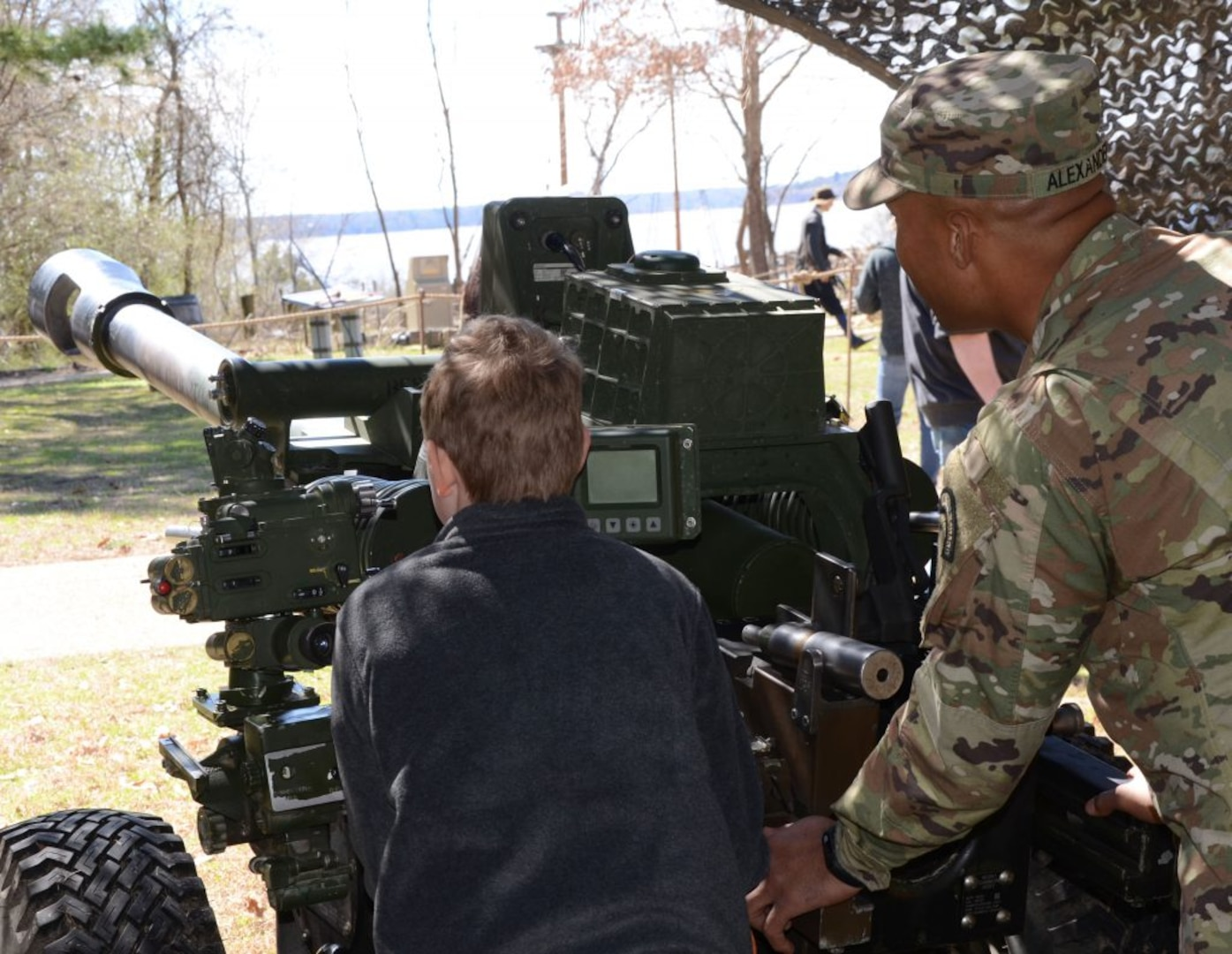 1-111th showcases firepower during Military Through the Ages event