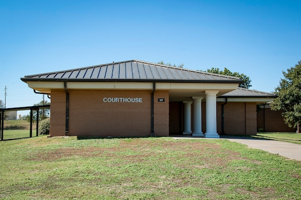 Sheppard Air Force Base, Texas, Courthouse
