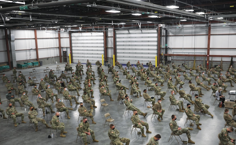 More than 1,300 members of the Indiana National Guard assist with testing and other measures to limit the spread of COVID-19. (Spc. Jules Iradukunda, Indiana National Guard, Oct. 30, 2020)