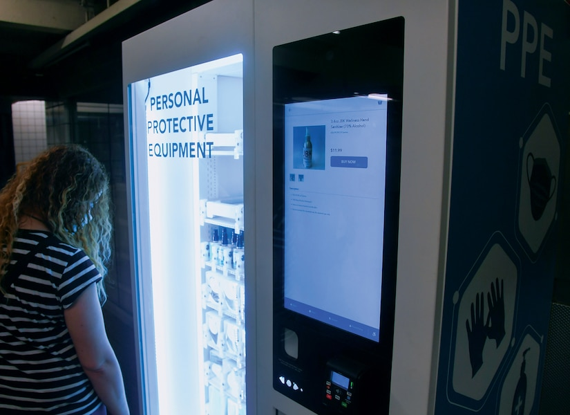 MTA Deploys PPE Vending Machines Across Subway System (Metropolitian Transit Authority of the State of New York, June 29, 2020)
